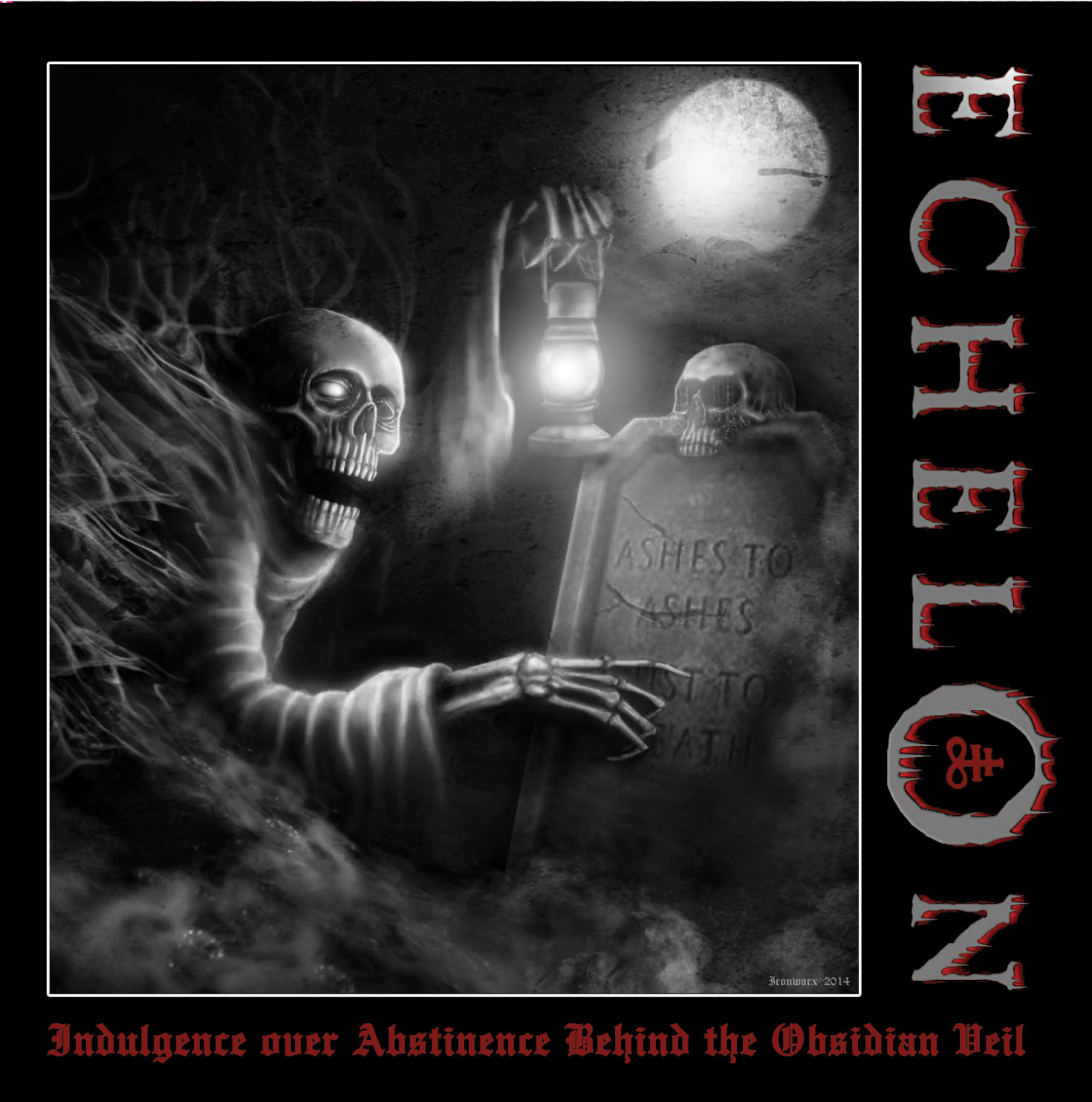 Echelon -Indulgence over abstinence behind the obsidian veil- CD